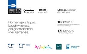 Evento cocina por la paz en Málaga